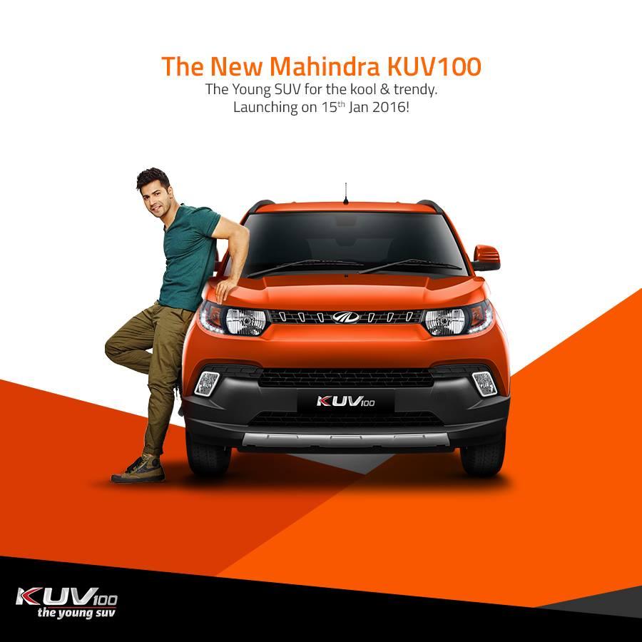 Mahindra KUV100 Varun Dhawan (1)