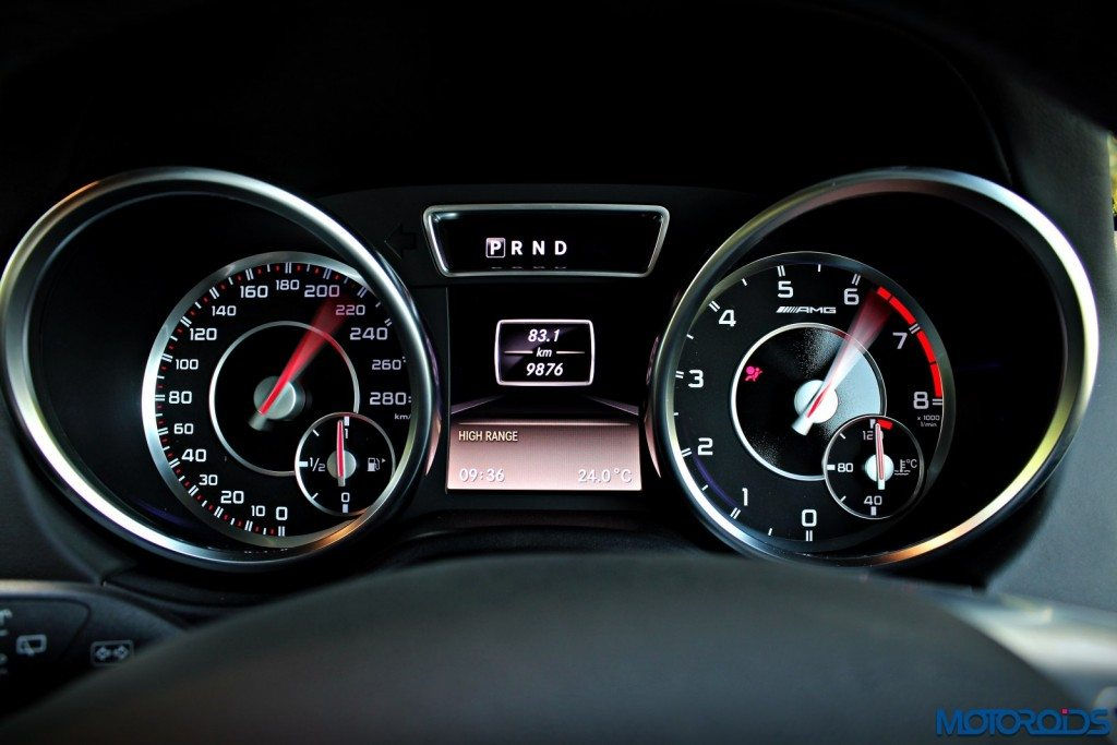 Mercedes AMG G63 Crazy Colour Instrument cluster(73)