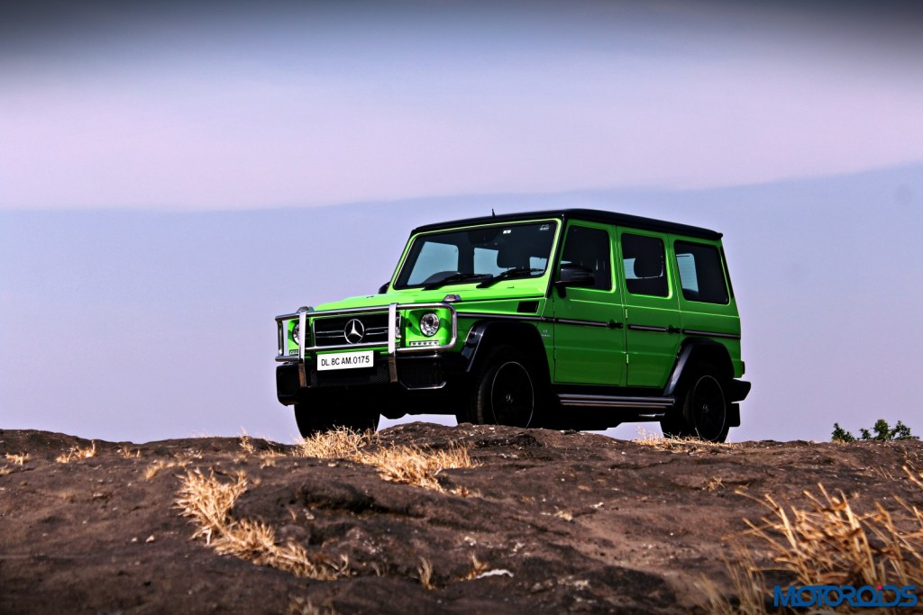 Mercedes AMG G63 Crazy Colour Off the road(162)