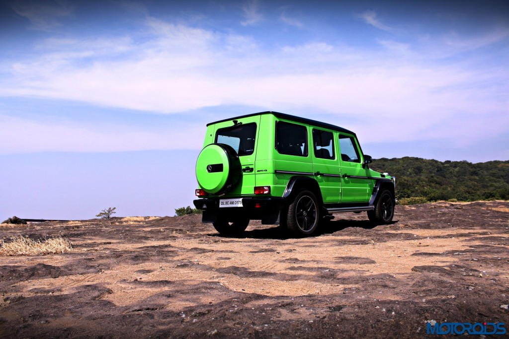Mercedes AMG G63 Crazy Colour Off the road(171)