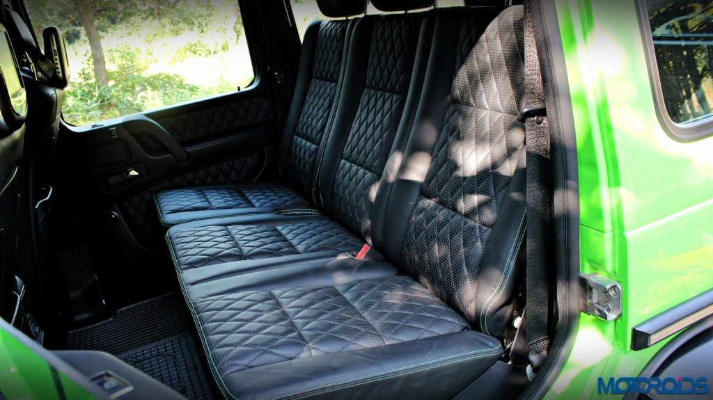 Mercedes AMG G63 Crazy Colour Rear Seat(112)
