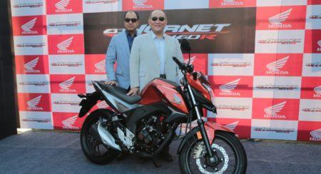 Honda CB Hornet 160R launched; prices start at INR 79,900
