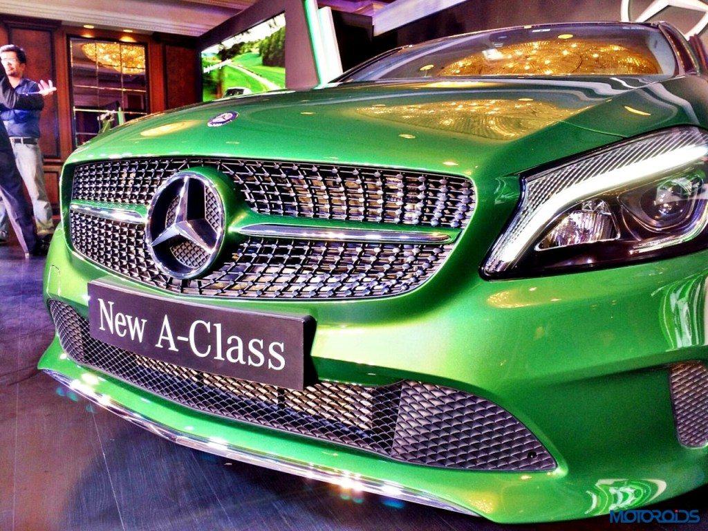 New 2016 Mercedes A Class front (1)