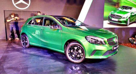 New 2016 Mercedes A Class front (3)
