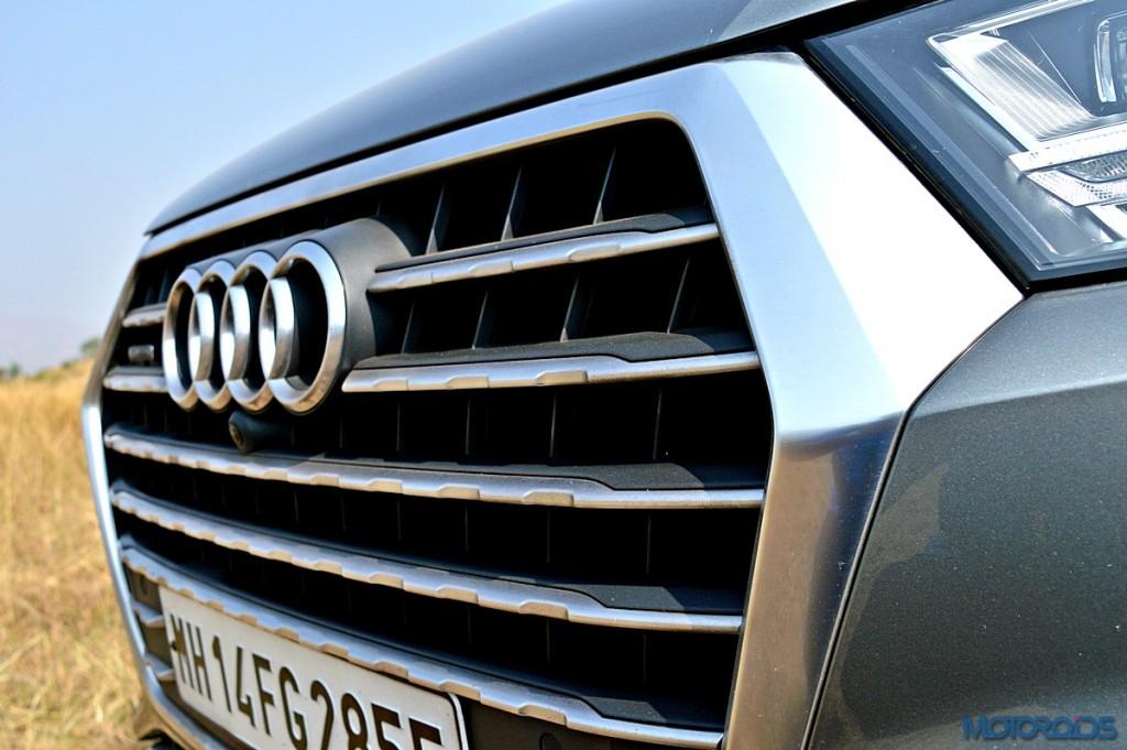 New Audi Q7 Grille (1)
