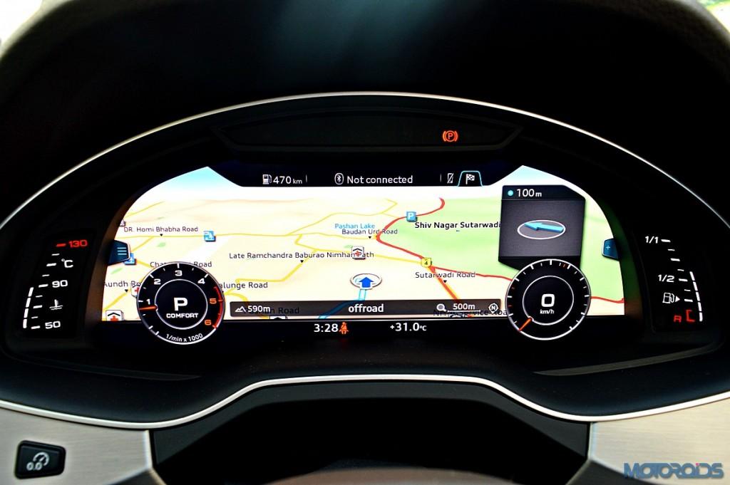 New Audi Q7 Virtual Cockpit (3)