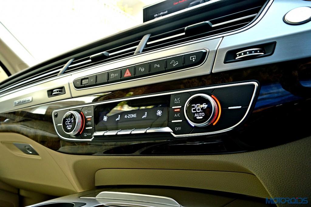 New Audi Q7 climkate control (1)