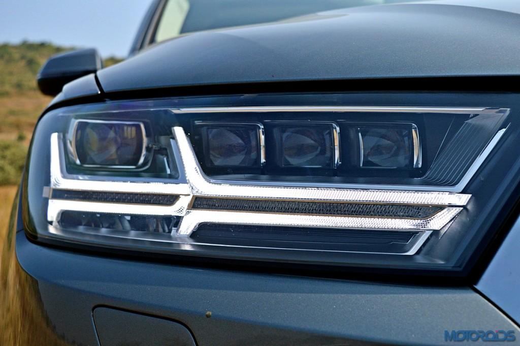 New Audi Q7 headlamp (2)