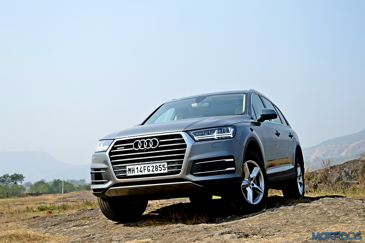 new 2015 audi q7 review evolved mastery motoroids. Black Bedroom Furniture Sets. Home Design Ideas