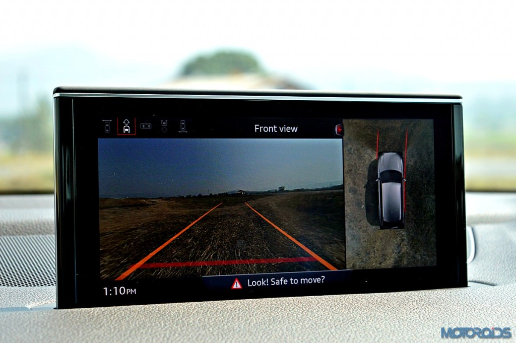 New Audi Q7 parking camera (2)
