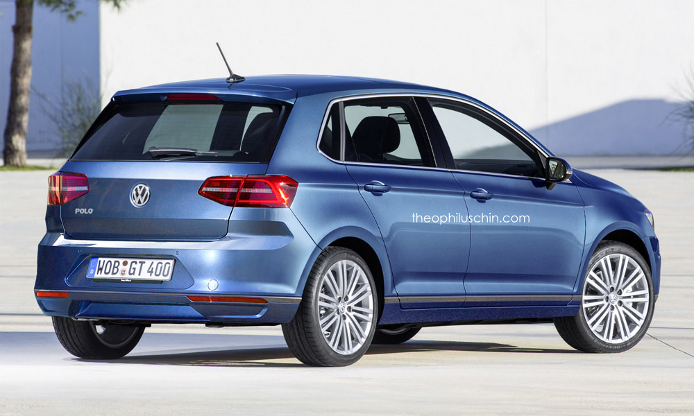 Next-generation Volkswagen Polo Render (1)