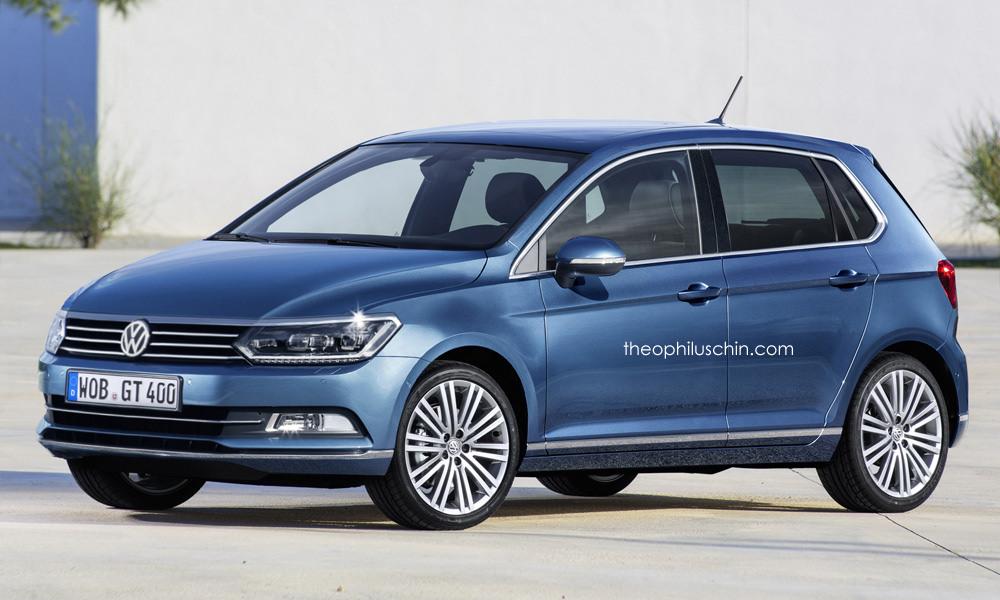 Next-generation Volkswagen Polo Render (2)