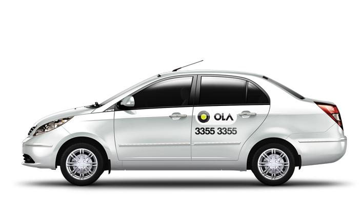 Ola cab taxi