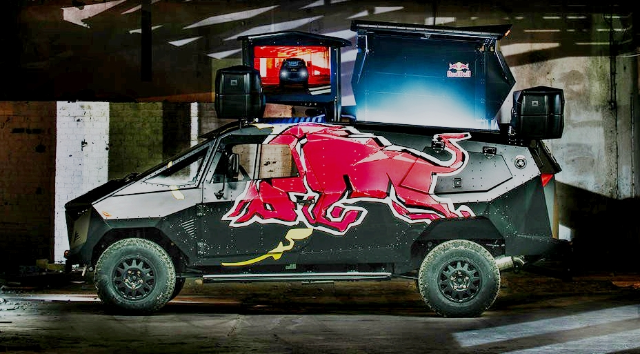 Red Bull Armoured Party Truck - 09