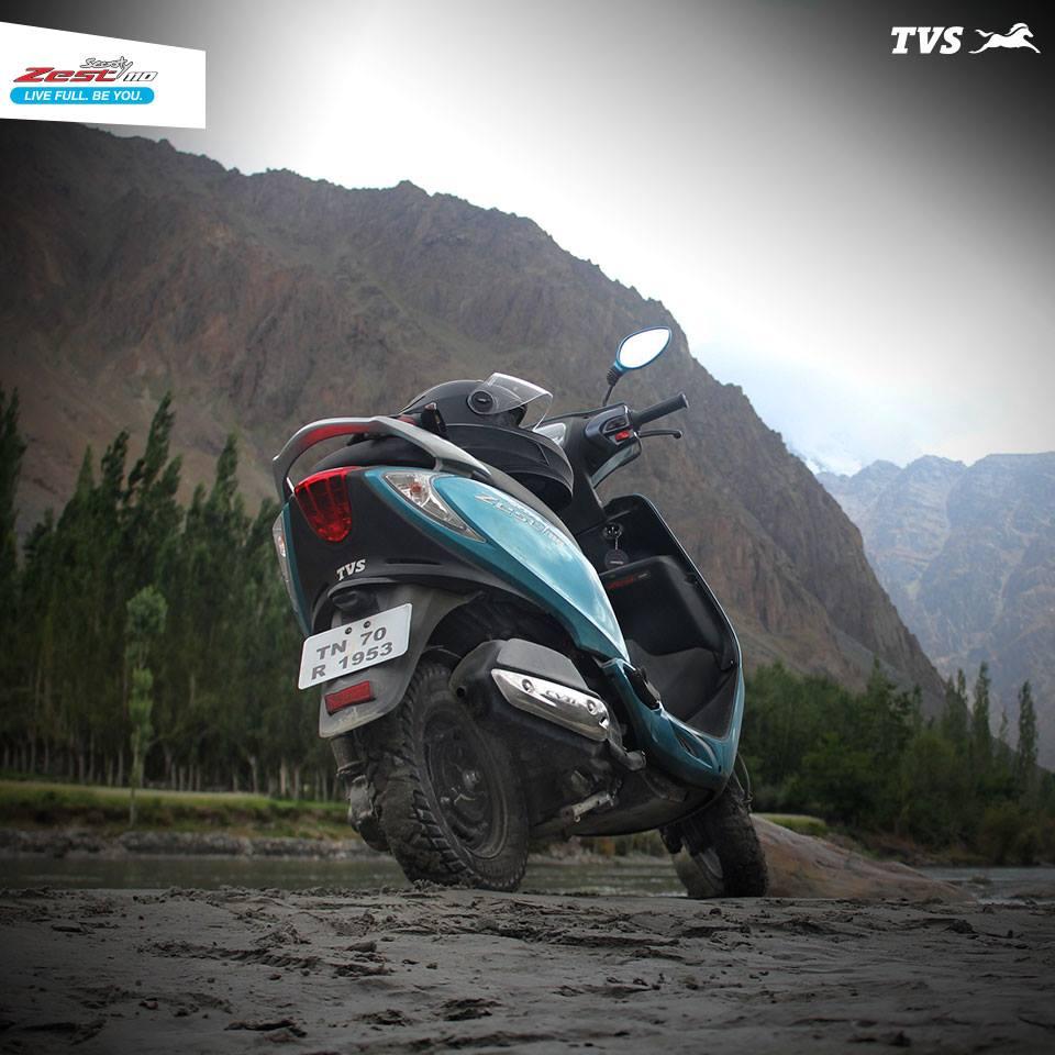 TVS Scooty 110 Himalayas Khardung La (11)