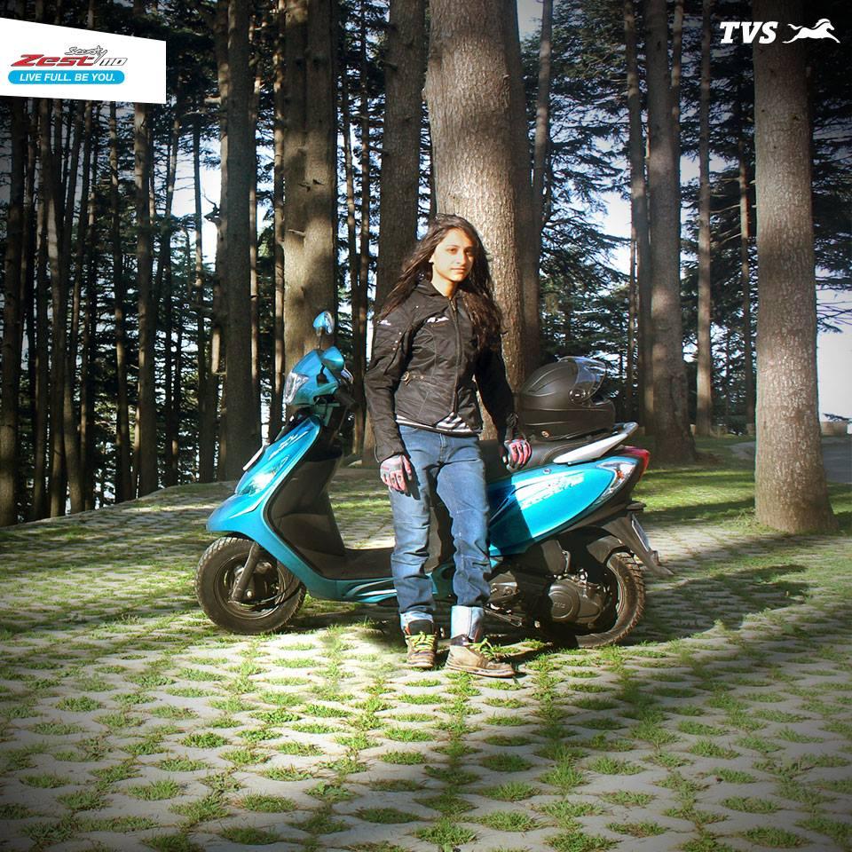 TVS Scooty 110 Himalayas Khardung La (12)
