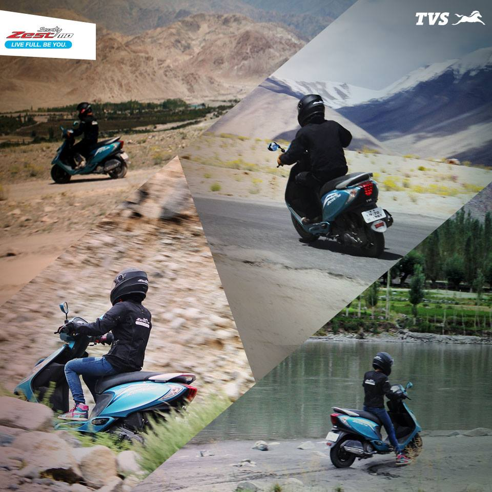 TVS Scooty 110 Himalayas Khardung La (6)