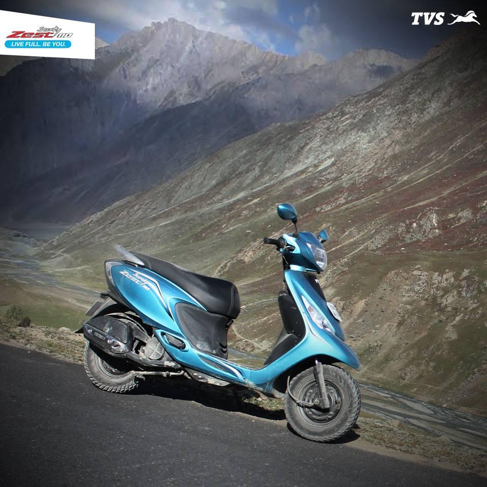 TVS Scooty 110 Himalayas Khardung La (8)