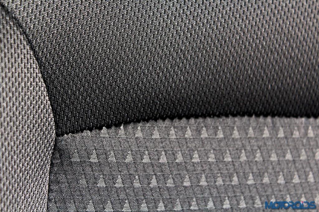 Tata Zica Seat fabric