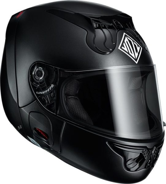 Vozz 1.0 RS helmet without chinstrap closed