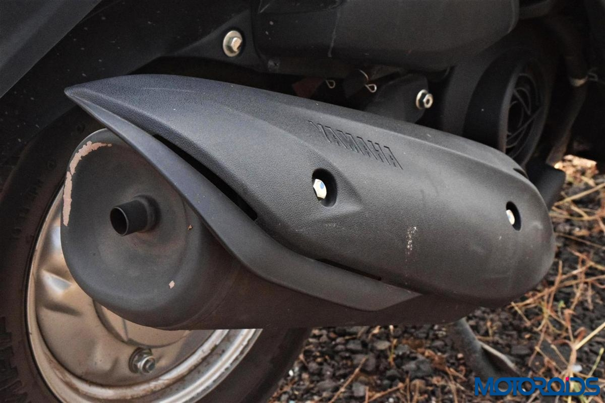 Yamaha Fascino exhaust