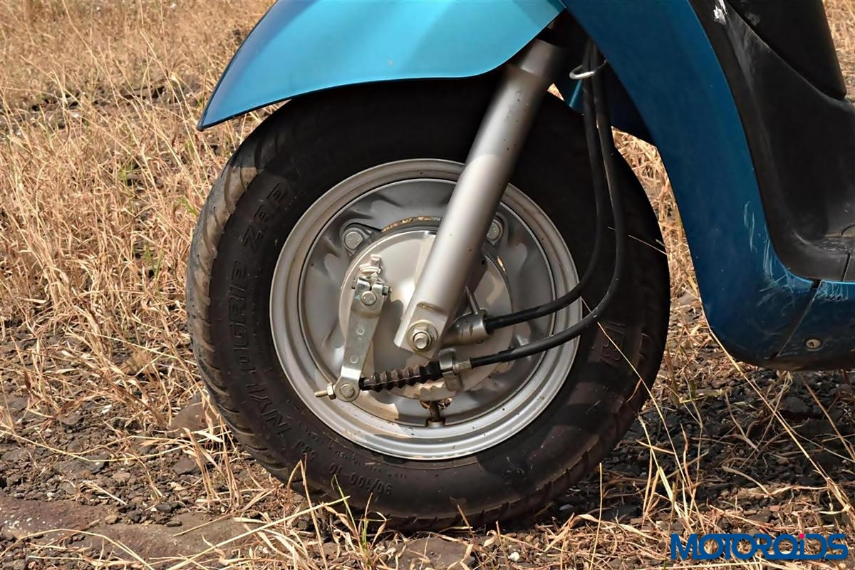 Yamaha Fascino front tyre