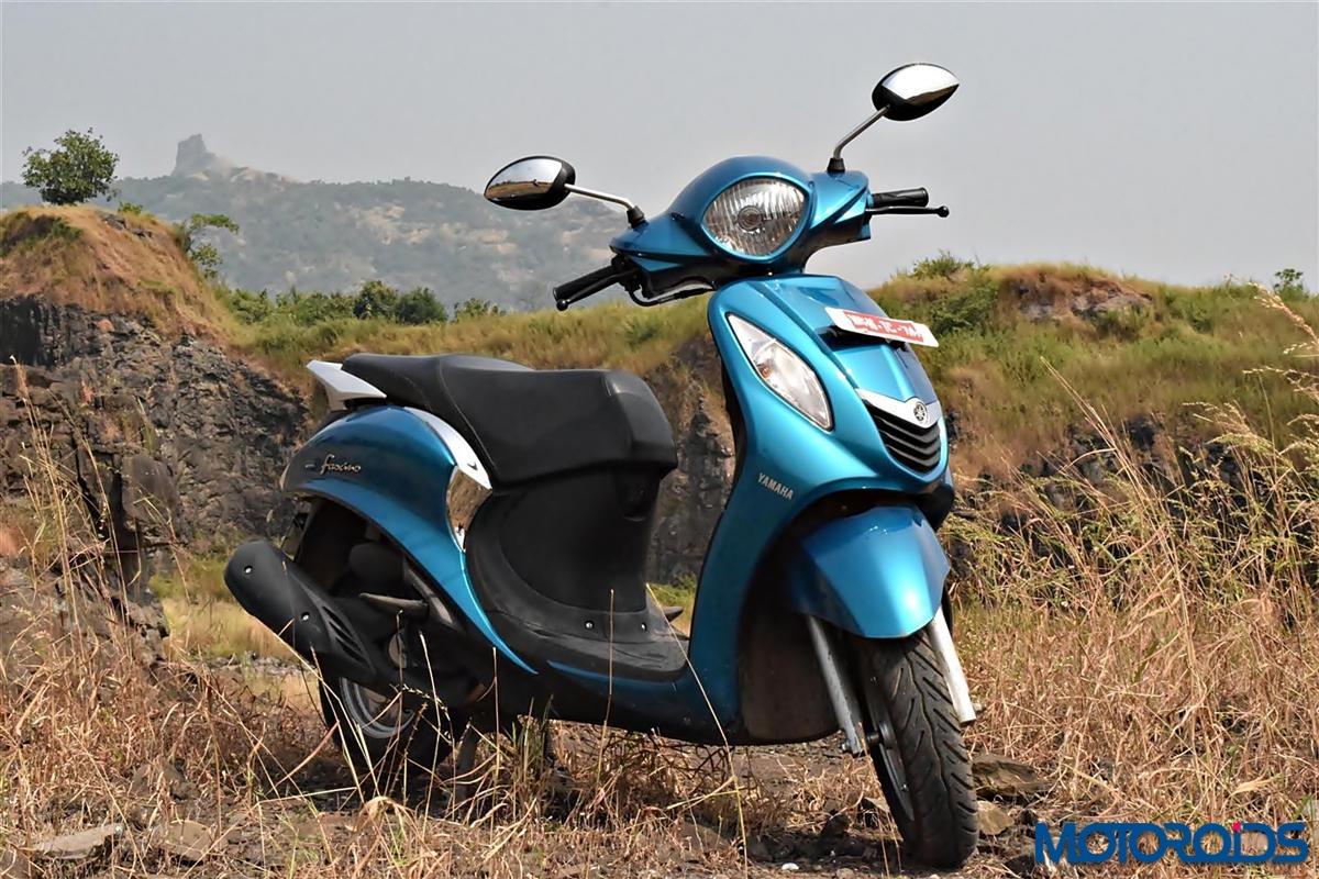 Yamaha Fascino front view