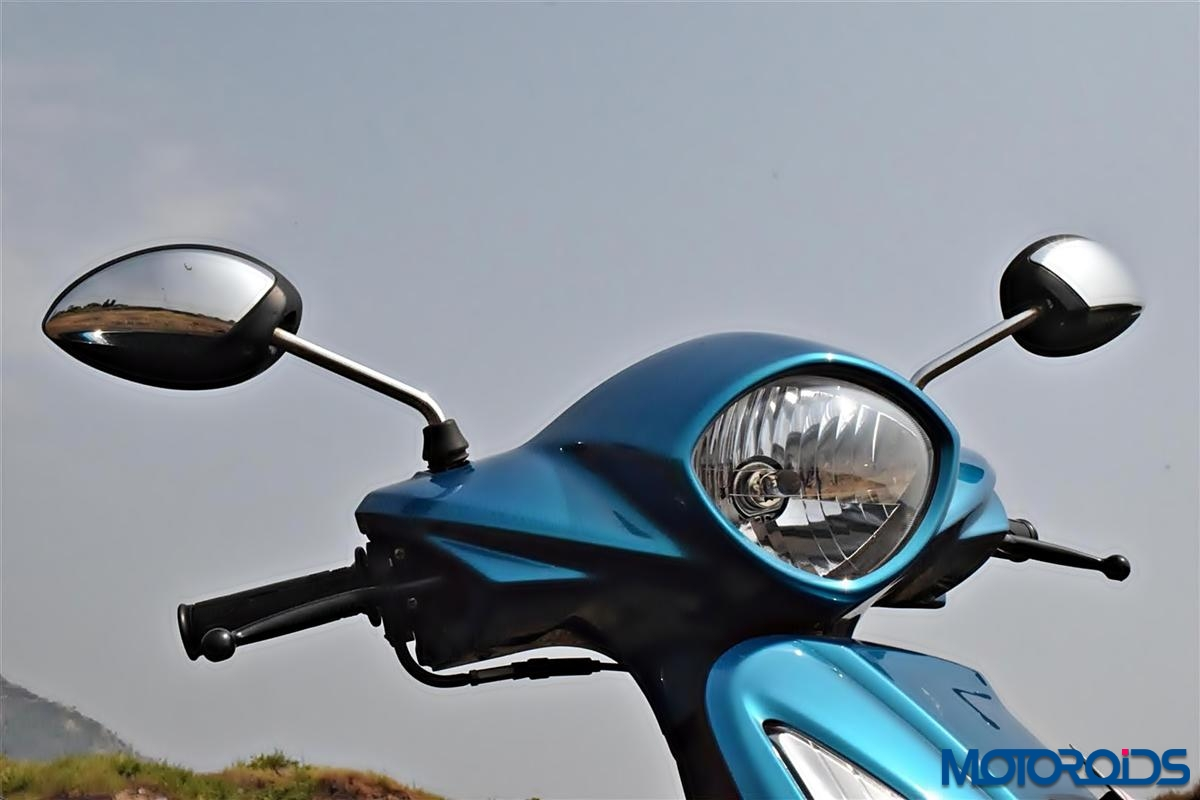 Yamaha Fascino headlight