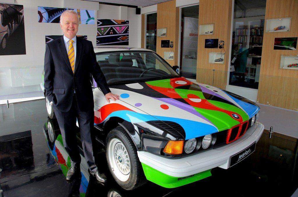 03 Mr. Philipp von Sahr with BMW Art Car by César Manrique