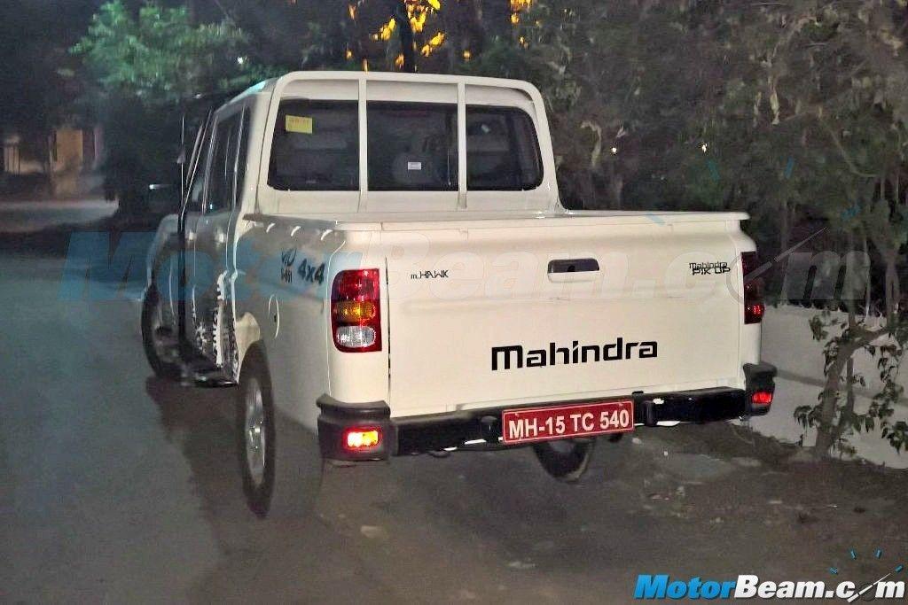 2016 Mahindra Scorpio Pick up (1)