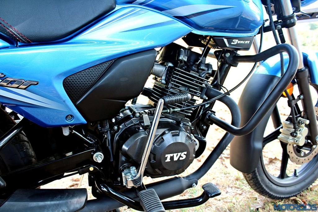 2016 TVS Victor Engine