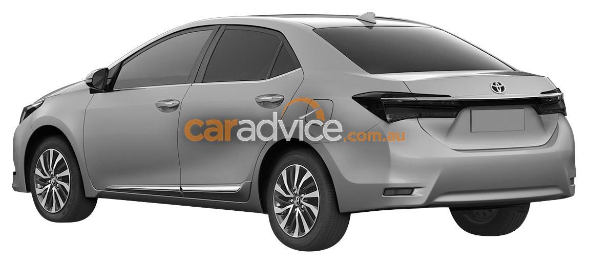 2016 Toyota Altis facelift rear view