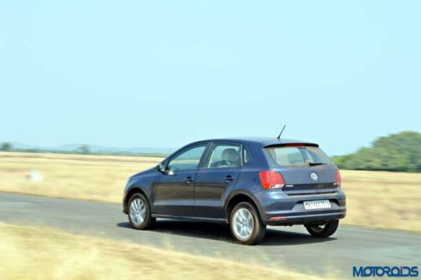 2016 Volkswagen Polo 1.5 TDI Rear View