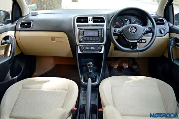 2016 Volkswagen Polo 1.5 TDI Dashboard