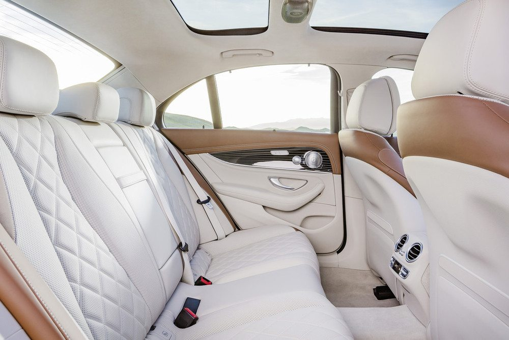 2017 Mercedes E-Class cabin