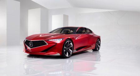 Acura Precision Concept Detroit Show 2016