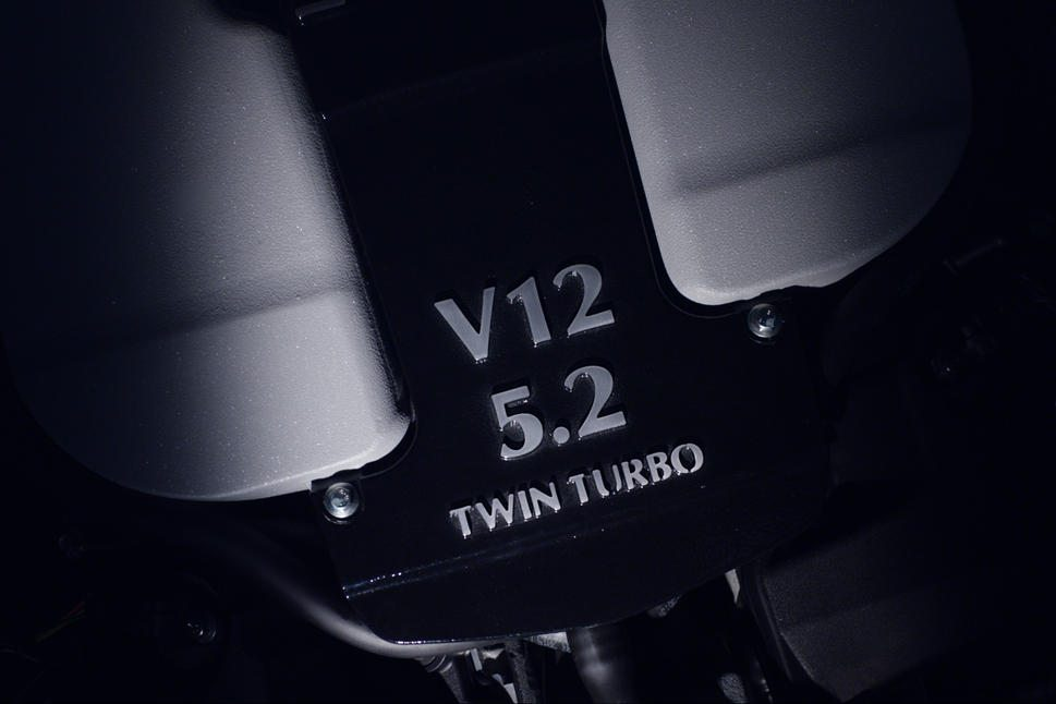 Aston V12 turbo