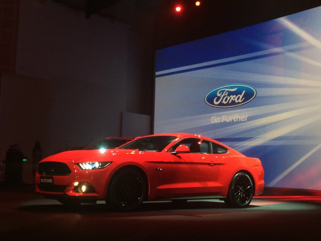 Ford Mustang India (1)