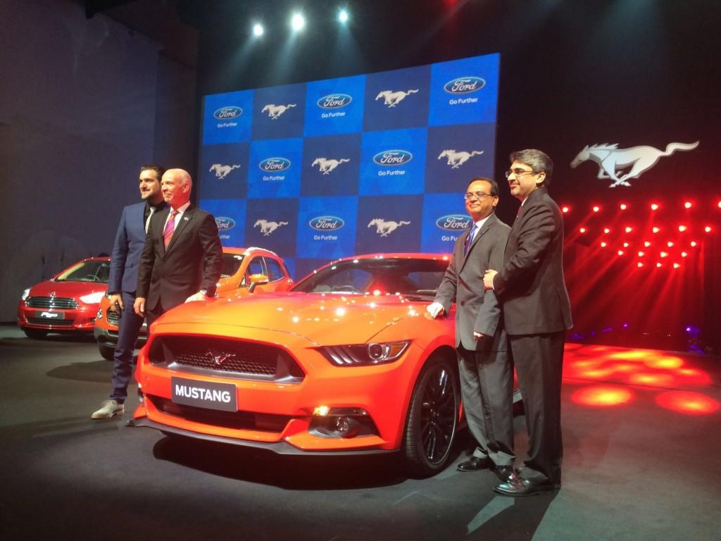 Ford Mustang India Motoroids (2)