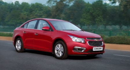 GM India Launches New Chevrolet Cruze 2016 (2)