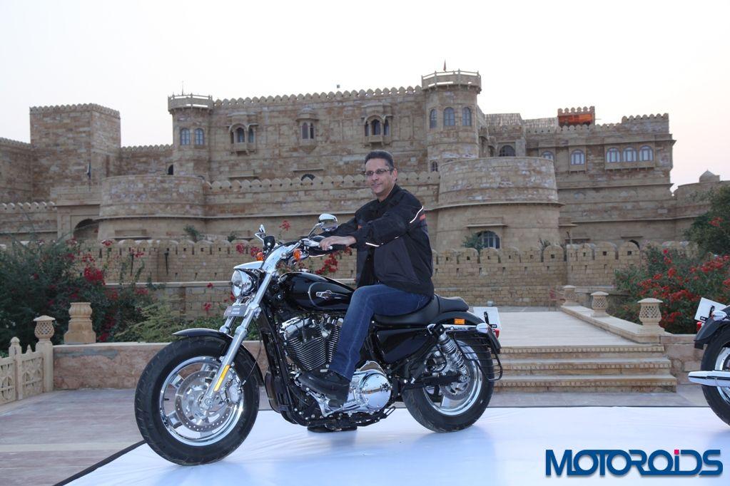 Harley-Davidson 1200 Custom - India Launch (2)