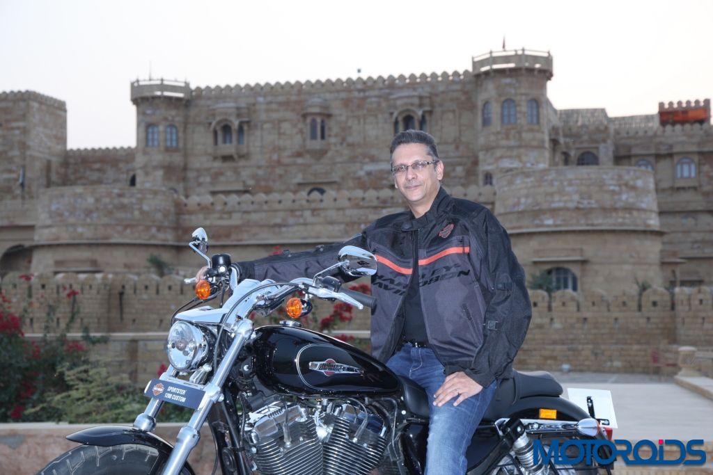 Harley-Davidson 1200 Custom - India Launch (3)