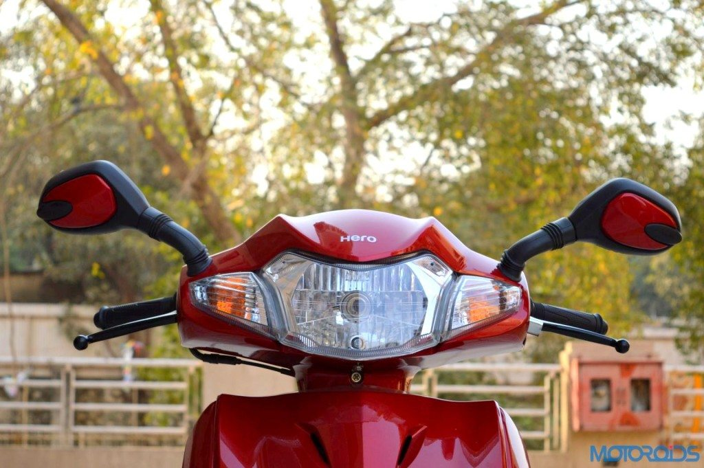 Hero Duet Front head unit with rear view mirrors