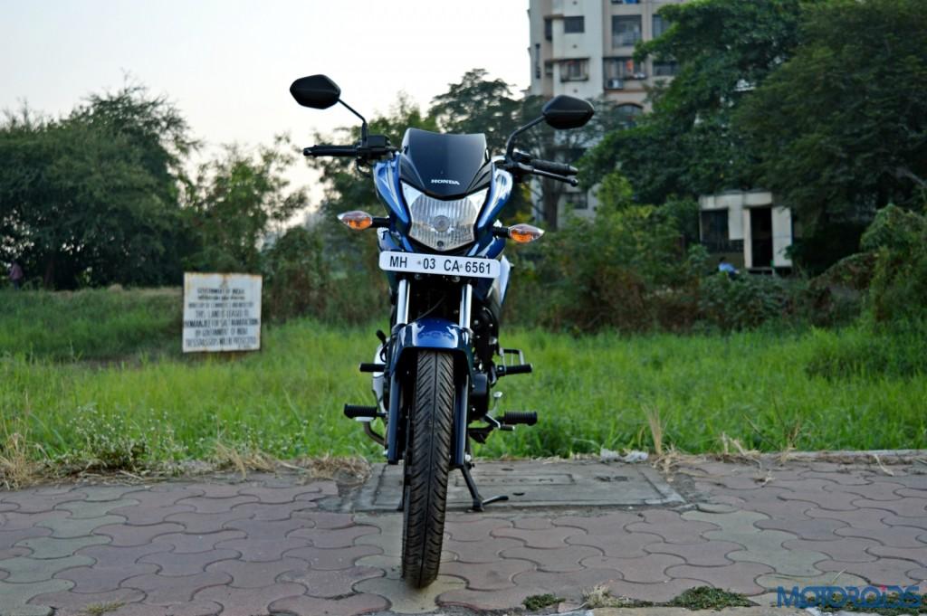 Honda CB Shine SP front