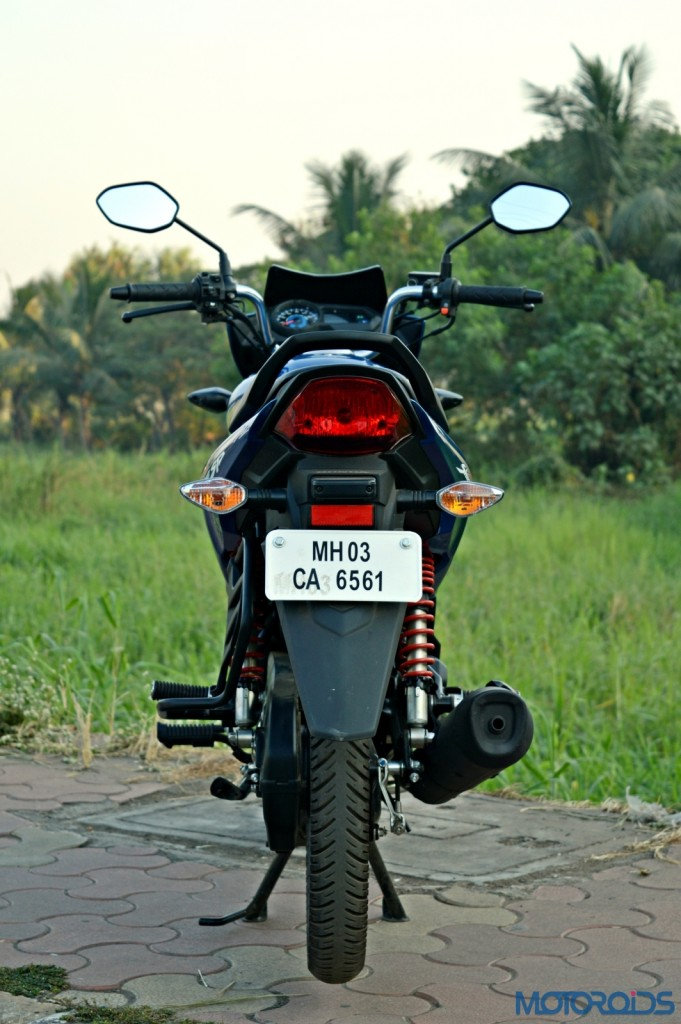 Honda CB Shine SP rear