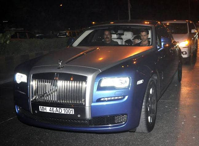 Hrithik Roshan Rolls-Royce Ghost