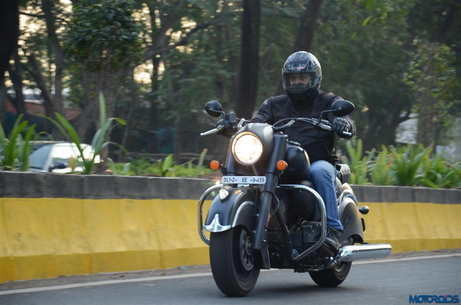 Indian Dark Horse city riding (52)