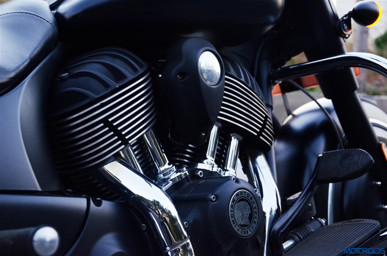 Indian Dark Horse engine