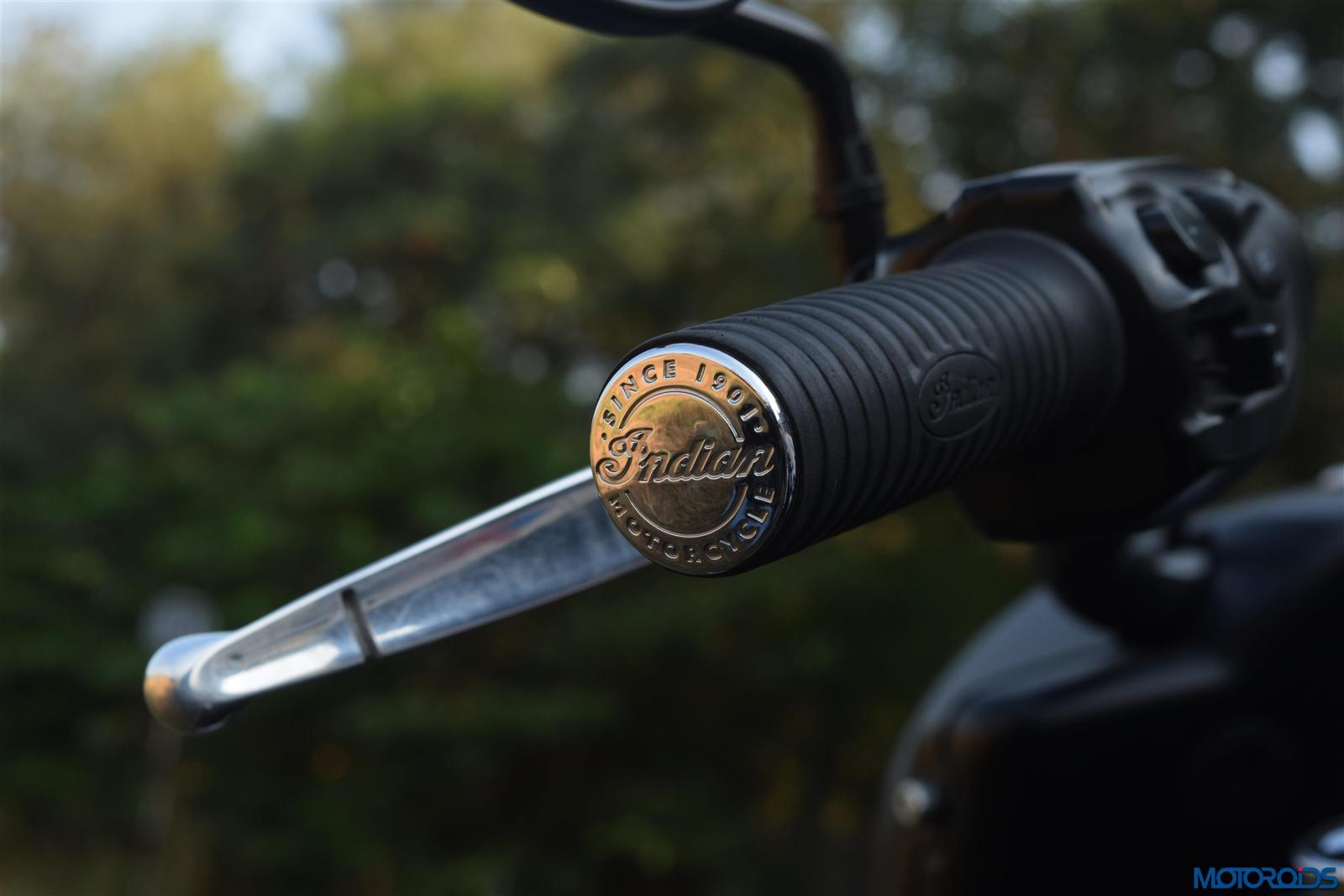Indian Dark Horse handle grips
