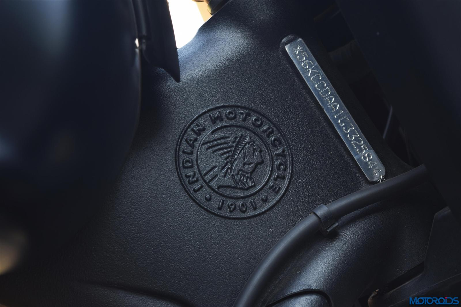 Indian Dark Horse logo on headstock (19)